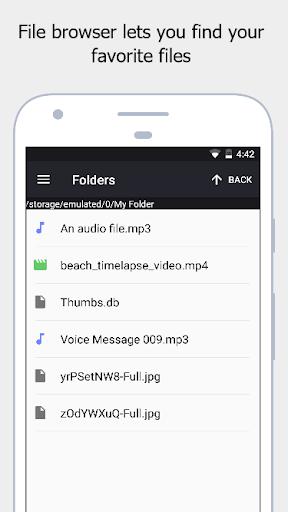 Stealth Audio Player - play audio through earpiece 29 Screenshots 6