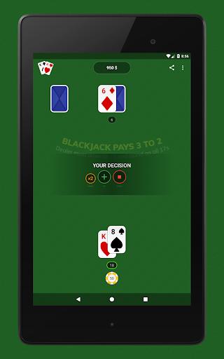 Blackjack - Free & Offline 1.7.1 Screenshots 11