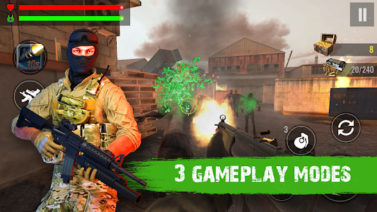 Zombie Shooter Hell 4 Survival Mod Apk (UNLIMITED REWARD GOLD) 5
