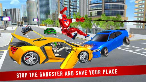 Miami Robot Spider Hero: City Gangster Games 2021 screenshots 5