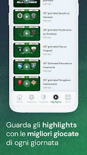 Lega B – App ufficiale Apk Download 4
