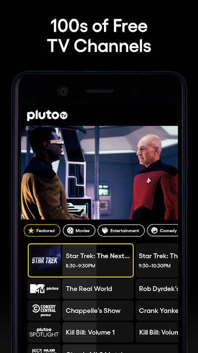 Pluto TV - Free Live TV and Movies Android App Screenshot