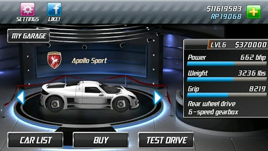 Drag Racing 2.0.44 MOD APK [UNLIMITED MONEY] 5