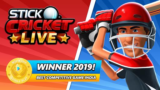 Stick Cricket Live 21 - Play 1v1 Cricket Games Apkfinish screenshots 8