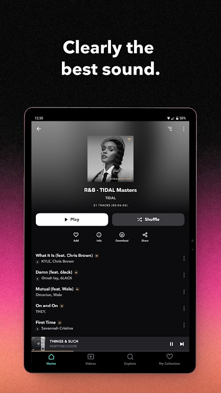 TIDAL Music - Hifi Songs, Playlists, & Videos  poster 6