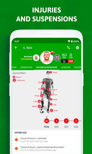 BeSoccer - Soccer Live Score 5.2.2.1 Screenshots 6
