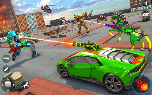 Horse Robot Car Game u2013 Space Robot Transform Wars  screenshots 8