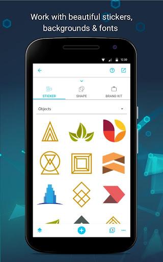 Business Card Maker android2mod screenshots 6