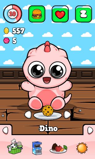 Dino ud83dudc3e Virtual Pet Game 1.371 Screenshots 2