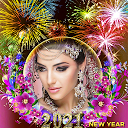 Happy New Year Photo Frame 2021