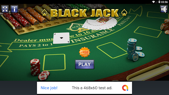 BLACK JACK (FREE) 1.0 MOD for Android 1