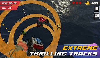 Ultimate Monster Truck: 3D Stunt Racing Simulator