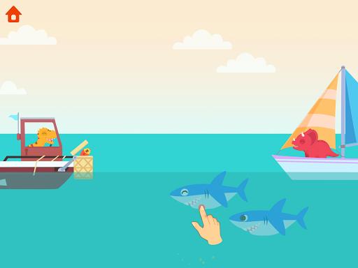 Dinosaur Patrol Boat - Coast Guard Games for kids apkmr screenshots 13