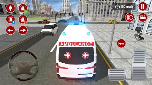 American Ambulance Emergency Simulator 2020 screenshots apkspray 9