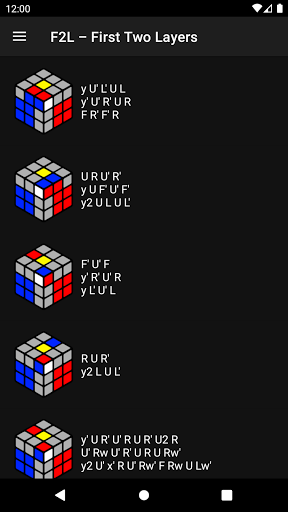Cube Guide - how to solve Rubik's Cube apktram screenshots 2