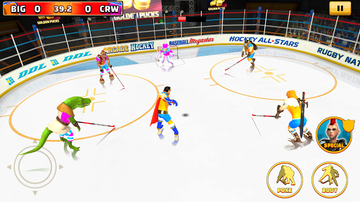 Arcade Hockey 21 android2mod screenshots 2