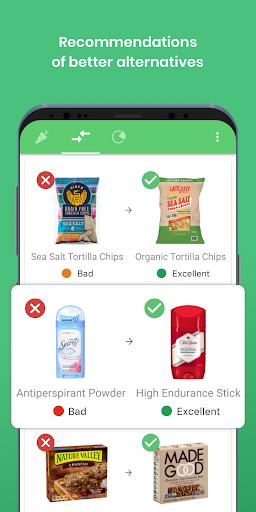 Yuka - food & cosmetic scan 3.34 Screenshots 5