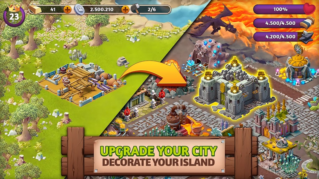 Fantasy Island Sim: Fun Forest Adventure  poster 1
