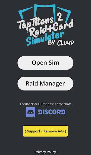 TT2 Raid Optimizer 1.12.0 screenshots 1
