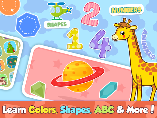 Toddler learning games for kids: 2,3,4 year olds  screenshots 12