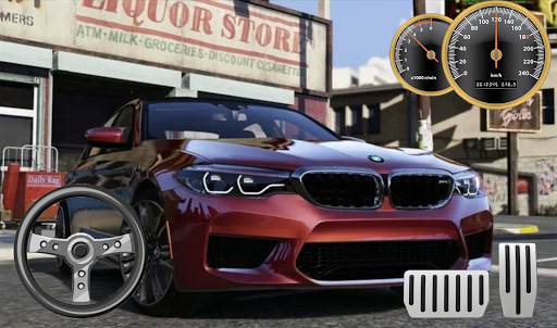 Drive BMW M5 & Parking School android2mod screenshots 4