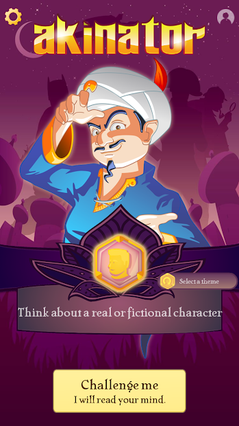 Akinator Android App Screenshot