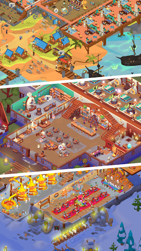 Idle Inn Empire Tycoon - Game Manager Simulator apktram screenshots 2