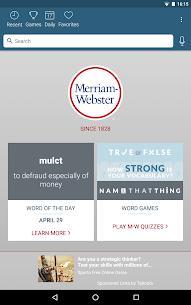 Dictionary – Merriam-Webster 10