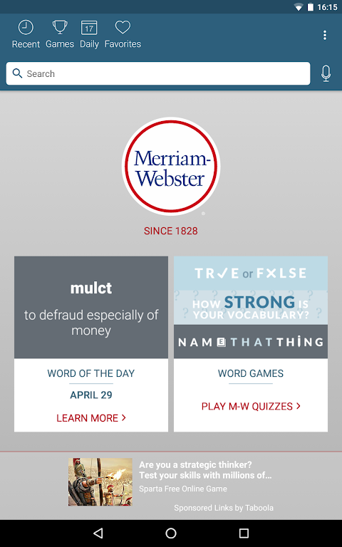 Dictionary - Merriam-Webster  poster 9