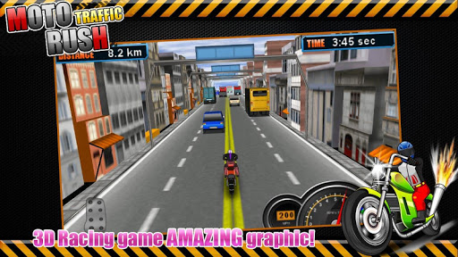 Moto Traffic Rush3D modavailable screenshots 5