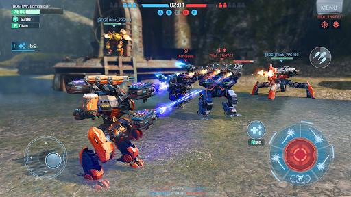 Code Triche War Robots. Batailles multijoueur tactiques 6v6 APK MOD (Astuce) screenshots 3