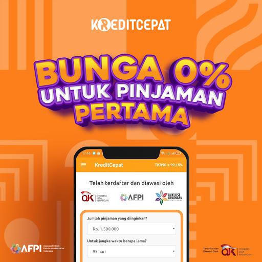 KreditCepat: Pinjaman Uang Dana Tunai Online Cepat Apkfinish screenshots 1