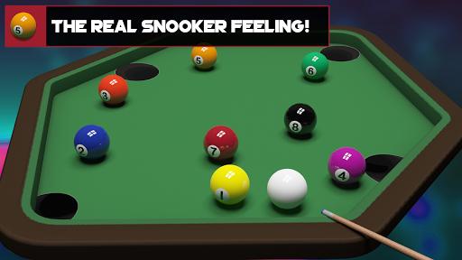 real pool strike : mini balls table screenshot 2