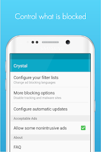Crystal Adblock for Samsung Screenshot