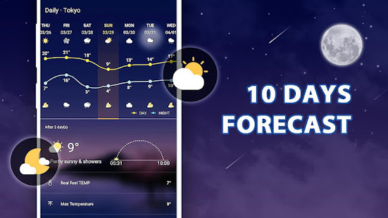 Weather Live - Accurate Weather Forecast 1.2.1 Screenshots 9