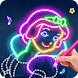 Learn To Draw Glow Princess - Androidアプリ
