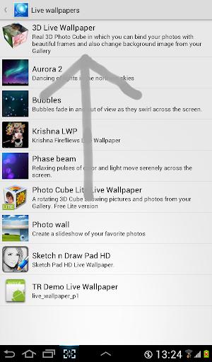 3D Photo Cube Live Wallpaper screenshots 2
