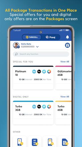 Turkcell Digital Operator - Transaction & Shopping android2mod screenshots 3