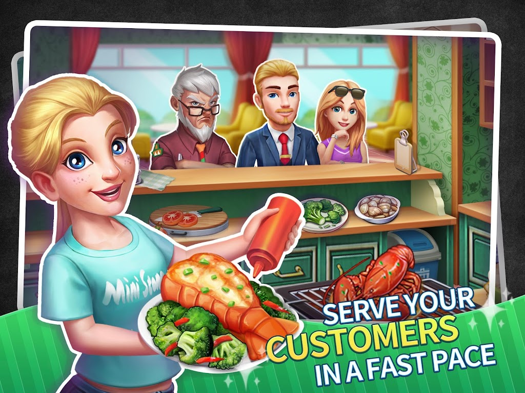 My Restaurant Empire - 3D Decorating Cooking Game  poster 7