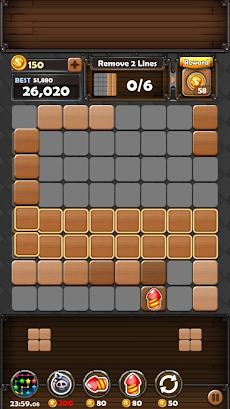 ブロックパズルキング : ウッド・8×8ブロック・パズルのおすすめ画像1