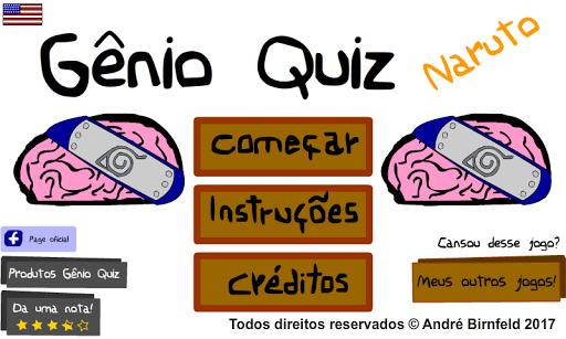 Genius Quiz Naru - Smart Anime Trivia Game  screenshots 1