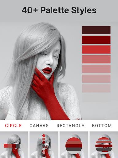 Palette Pantone ud83dudcf7 Add color palettes to photos 2.01 Screenshots 10