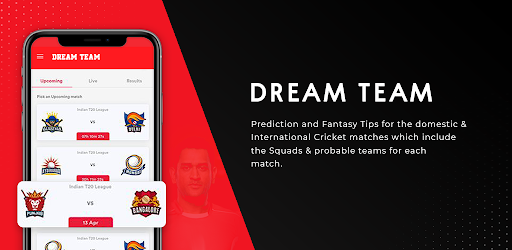 Dream Team 11- Cricket Prediction Tips for Dream11 APK 0