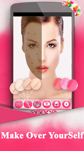 Make-up-Foto Salon-Mode-Stil Screenshot