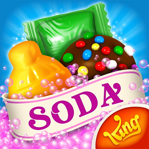 🍭A popping match 3 game! Swipe candies & solve fun puzzles. It's Sodalicious!🍭