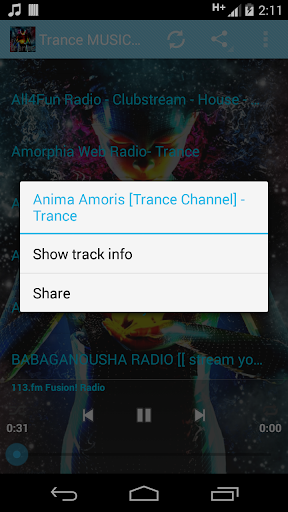 Trance Music ONLINE For PC Windows (7, 8, 10, 10X) & Mac Computer Image Number- 7
