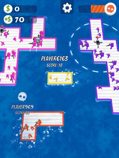 War of Rafts: Crazy Sea Battle  screenshots 15