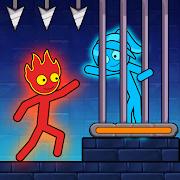 Red Stick and Blue Stick - Puzzle Maze Adventure