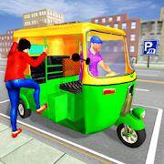City TukTuk Rickshaw Simulator: Driving Games 2020