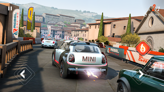Rebel Racing Mod APK (Unlimited Money) 1